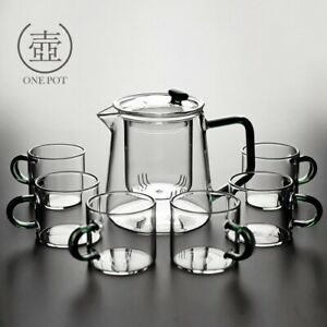 Glass teapot filter Indoor high temperature resistant transparent making...