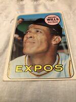 1969 Topps #45 Maury Wills  EXMT X1800252