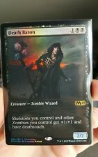 MTG Death Baron M19 Exclusive Convention Foil Promo x1