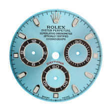 Rolex Daytona Azul Claro/Dial Personalizado de índice
