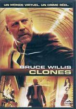 DVD *** CLONES *** Avec Bruce Willis
