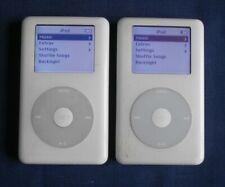 APPLE CLASSIC IPOD x2 - 20GB - BOTH WORKING - FREEPOST UK