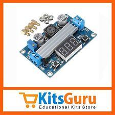 DC 100W LTC1871 3-35V Boost Power Module Voltage Regulated + LED Voltmeter KG206