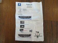 Brand new genuine Peugeot 107 mesh grill kit VAS172