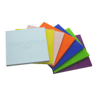 3mm & 5mm Thick Coloured Genuine Perspex® Cast Acrylic / Various Sizes & Colours