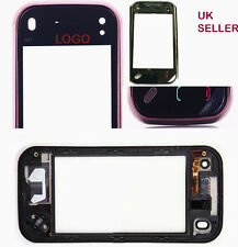 Nokia N97 mini Touch panel Digitizer with Frame Red /faded red grade A +tools