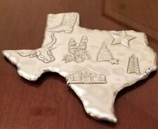 METAL SCULPTURE OF STATE OF TEXAS WALL HANGING