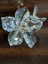 Swarovski Crystal Figurines Bee on Flower Large 20th Anniversary Mint