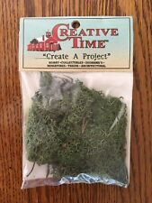 CREATIVE TIME - HOBBY, TRAIN, DIORAMA LICHEN LANDSCAPING DEEP FOREST GREEN NEW