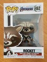 Funko Pop! Marvel #462 - Avengers Endgame: Rocket *No Sticker* Walmart Exclusive