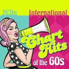 INTERNATIONALE CHARTHITS OF THE 60'S * NEW 2CD'S * NEU *