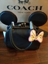 Disney X Coach F29349 Kisslock Bag with Minnie Mouse Ears Limited Edition