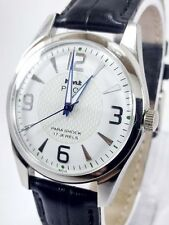 VINTAGE MEN'S HMT PILOT LIMITED EDITION 17 JEWELS WINDING WRIST WATCH FOR GENT'S