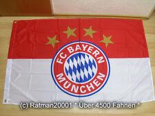 Fahnen Flagge F.C. Bayern München Mit Ösen - 100 x 150 cm