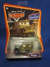 Disney Pixar Cars Sarge Supercharged Sealed
