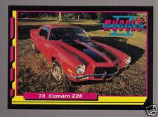 1973 CHEVROLET CAMARO Z28 Z/28 350ci 245hp V8 Muscle Car Photo 1992 TRADING CARD