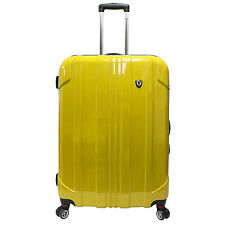 Traveler's Choice 29 in Yellow Sedona Polycarbonate Spinner Luggage Suitcase Bag