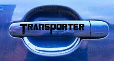 Transporter Small 100mm Door Handle Stickers Decals VW Camper Vans DUB EURO