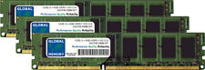 12GB (3 X 4GB) DDR3 1333MHz PC3-10600 240-PIN Dimm Ram Kit para Ordenadores de