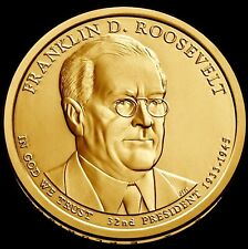 """2014 D Franklin Roosevelt """"Imperfect Uncirculated"""" Presidential $ (DISCOUNTED)"""