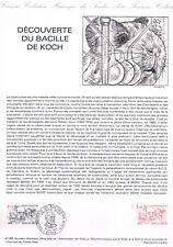 Document Officiel   1982 41   Decouverte Du Bacille De Koch  Yv N° 2246