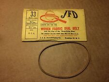 NOS Antique JFD Fabric Radio Dial Belt Number 33 131 GUARANTEED for RCA #2