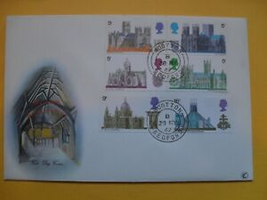 Stamps - First Day Covers - British Architecture, 28/05/69