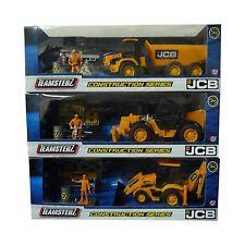 Modellini statici di macchine da cantiere in plastica arancione