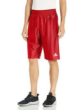 Adidas Men's Basic Short 2 Basketball Shorts Red Size L