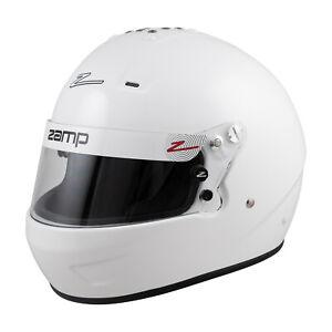 Zamp RZ56 White Zamp Helmet - Large 60cm RZ-56 SA2020 White Hans Compatible