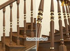 Decorative wooden spindles for sale - Stair parts (10 pc.)