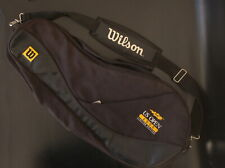 Wilson Us Open 2000 Limited Edition 2 Compartment Tennis Racquet Black Bag