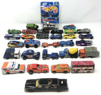 Hot Wheels, Matchbox & Misc (Lot Of 30) Some Heavily Played 70s 80s 90s & 2000+