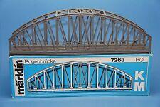 M&B Marklin HO 7263 Arch Bridge section M + K track 36 cm