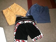 Mens SHORTS x 3~SPEEDO & LE COQ SPORTIF Swim Shorts & River Island Cut Offs~W32""