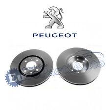 Dischi freno anteriori originali Peugeot 406. Cod: 4246V1