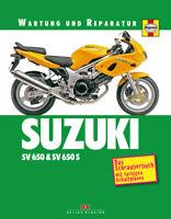 SUZUKI SV S 650 Reparaturanleitung Reparaturbuch Reparatur-Handbuch Buch Wartung