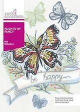 Anita Goodesign Embroidery Machine Design Cd Flights Of Fancy (Butterflies)