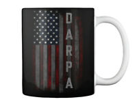 Darpa Family American Flag Gift Coffee Mug