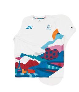 Nike SB Parra Olympic France Kid's Skate Jersey