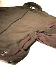 K Swiss 7.0 System  Gray Marron Warm Up- Track Jacket Size M Men's