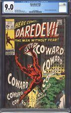 DAREDEVIL #55 (1969) CGC 9.0 VF/NM / Roy Thomas / Mr. Fear!