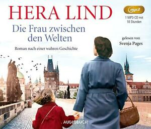 """Hera Lind """"Die Frau zwischen den Welten"""",1 mp3-CD,ungekürzt,neu,OVP,ohne Porto"""