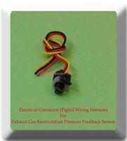 Connector of EGR Exhaust Back Pressure Sensor VP22 Fit Ford Diesel 6.0L 05-10