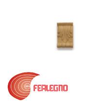 FREGIO IN PASTA DI LEGNO PER MOBILI ANTICHI 70X45MM ART.MG9993 METAL STYLE
