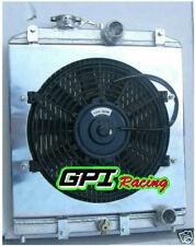 3row 56MM Aluminum Radiator 92-00 Honda Civic EK EG D15 D16 B16 B18 + FAN Shroud