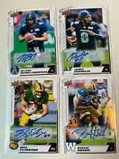 2020 UPPER DECK CFL Autograph Auto PICK FROM LIST