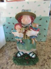 1998 First Edition Carol Figurine,Lang and Wise,New/old stock,In box. 4 1/2 in.