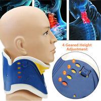 Medical Neck Collar Cervical Traction Device Support Brace Adjustable