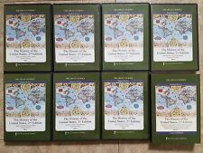 Great Courses History of the United States 2nd Ed DVD Complete Set guidebook 1-7